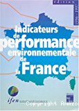 Environmental performance indicators in France