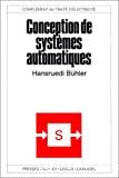 Conception de systèmes automatiques.