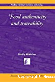 Food authenticity and traceability.