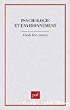 Psychologie et environnement