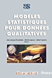 Modèles statistiques pour données qualitatives.