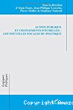 Action publique et changements d'échelles