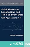 Joint models for lingitudinal and time-to-event data