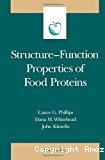 Structure-function. Properties of food proteins.