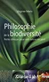 Philosophie de la biodiversité