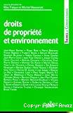 Droits de propriété et environnement