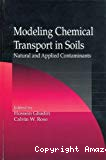 Modeling Chemical Transport in Soils. Natural and Applied Contaminants