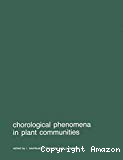Chorological phenomena in plant communities. Proceedings of the 26th International Symposium of the International Association for Vegetation Science, held at Prague, 5-8 April 1982.