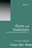 Gums and stabilisers for the food industry 12 - 12th international conference (23/06/2003 - 27/06/2003, Wrexham, Pays de Galles).