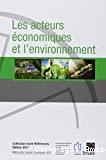 Les acteurs économiques et l'environnement