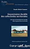 Gouvernance durable des collectivités territoriales