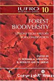 Forest biodiversity : lessons from history for conservation [Symposium history and forest biodiversity, Leuven, Belgium, 2003].