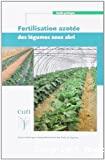 Fertilisation azotée des légumes sous abri