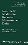 Nonlinear models for repeated measurement data.