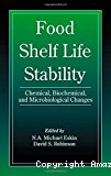 Food shelf life stability. Chemical, biochemical and microbiological changes.