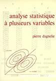 Analyse statistique à plusieurs variables