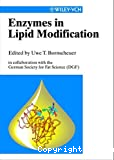 Enzymes in lipid modification.