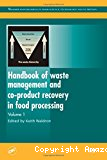 Handbook of waste management and co-product recovery in food processing. Vol. 1