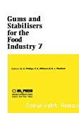 Gums and stabilisers for the food industry - 7th international conference (07/1993, Wrexham, Royaume-Uni).