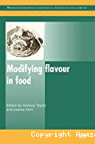 Modifying flavour in food.