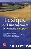 Lexique de l'aménagement du territoire européen