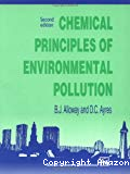 Chemical principles of environmental pollution