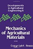 Mechanics of agricultural materials.