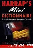 Harrap's Mini. Dictionnaire Français Espagnol, Espagnol Français