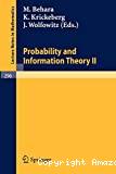 Probablity and Information Theory II