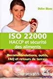 ISO 22000, HACCP et sécurité des aliments