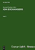 Ion exchangers.