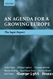An agenda for a growing europe. The Sapir Report