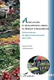 Agriculteurs et développement urbain en Afrique subsaharienne