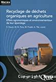 Recyclage de déchets organiques en agriculture