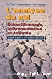 L'analyse du sol : échantillonage, instrumentation et contrôle