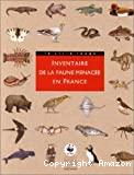 Inventaire de la faune menacée en France. Le livre rouge
