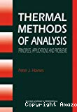 Thermal methods of analysis. Principles, applications and problems.