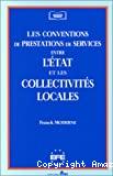Les conventions de prestations de services entre l'état et les collectivités locales