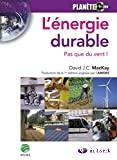 L' énergie durable