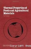 Thermal properties of foods and agricultural materials.