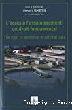 L'accés à l'assainissement, un droit fondamental