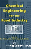 Chemical engineering for the food industry.