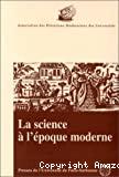 La science à l'époque moderne