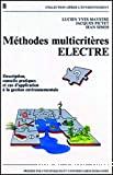 Méthodes multicritères ELECTRE