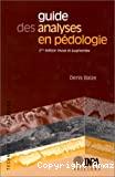 Guide des analyses en pédologie : choix, expression, présentation, interprétation. 2ème édition revue et augmentée.