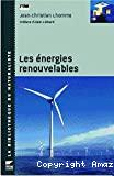 Les énergies renouvelables.
