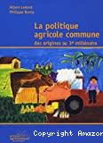 La politique agricole commune