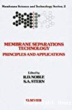 Membrane separations technology. Principles and applications.