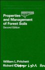 Properties and management of forest soils
