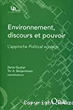 Environnement, discours et pouvoir